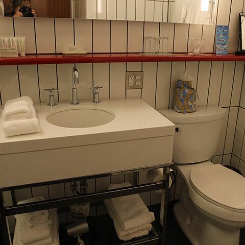 21C Museum Hotel Bathroom