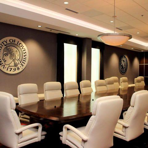 University of Louisville Board Room at Cardinal Stadium