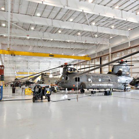 160th Special Operations Aviation Training Hangar